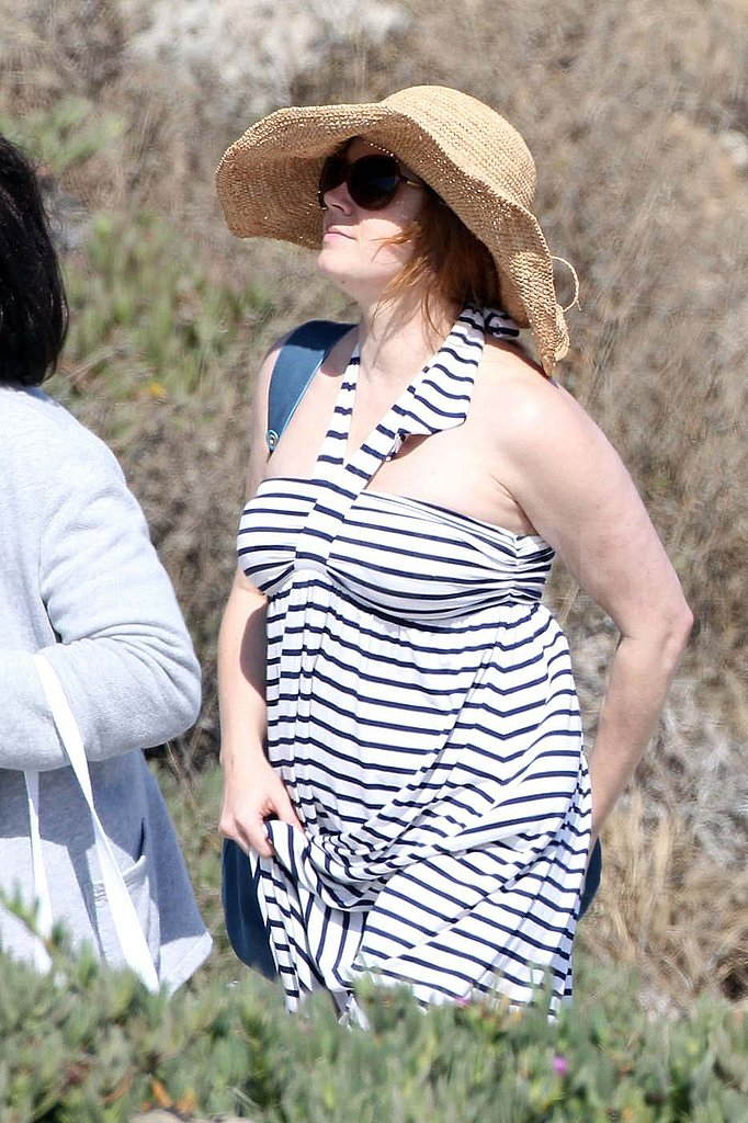 Pictures of Amy Adams and Baby
