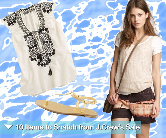 10 Items to Snatch From J.Crew's Summer Sale!