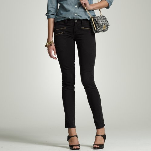 Toothpick Zipper Jeans ($35, originally $125)