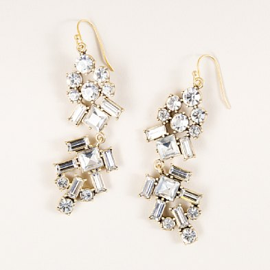 Crystal Carlyle Earrings ($29, originally $70)