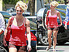 Pictures of Britney Spears Wearing Daisy Duke Shorts in LA