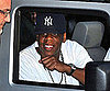 Slide Picture of Jay-Z Arriving at The Late Show