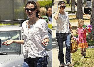 Pictures of Jennifer Garner and Violet Affleck in LA 2010-06-23 04:00:00