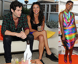 Pictures of Jessica Szohr and Penn Badgley at Malibu Party in NYC With Estelle, Sean Paul, Cobra Starship 2010-06-22 19:30:44