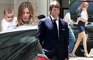 Pictues of Gisele Bundchen With Baby and Tom Brady