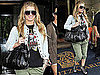 Pictures of Jessica Simpson Wearing a Willie Nelson Shirt in NYC