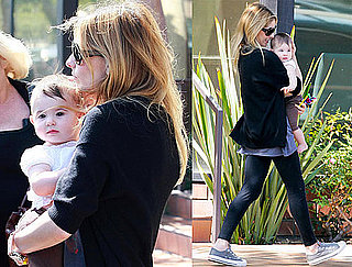 Pictures of Sarah Michelle Gellar With Daughter Charlotte Prinze