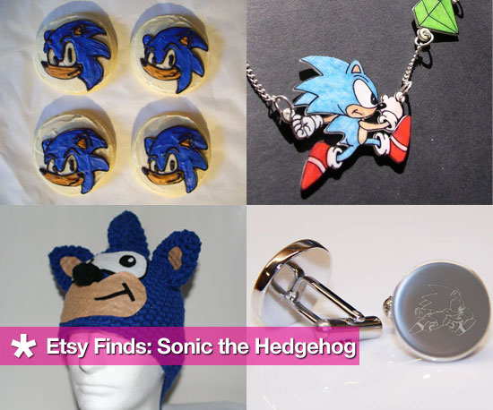 Etsy Finds: Sonic the Hedgehog (Happy Birthday Sonic!)
