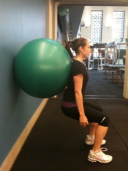 Battle of the Baby Weight: Stability Ball Exercises For Postpartum Moms