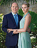 Pictures of Prince Albert of Monaco and His Fiancee Charlene Wittstock With Engagement Ring 2010-06-23 07:00:00