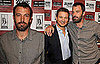 Pictures of Ben Affleck and Jeremy Renner Promoting The Town at the LA Film Festival
