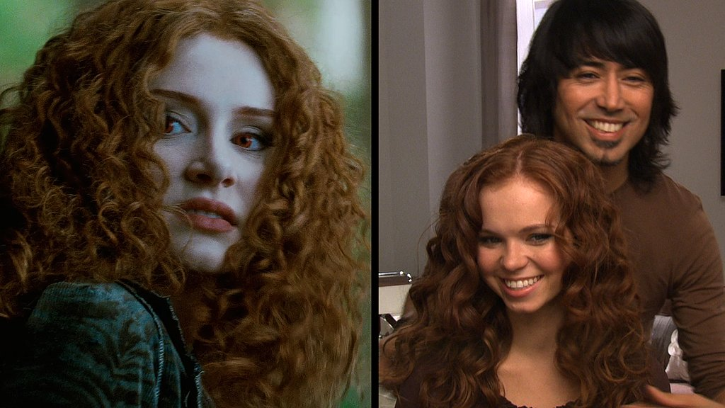 How To Curl Your Hair Like Victoria From Twilight Saga