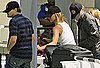 Pictures of Leonardo DiCaprio and Bar Refaeli Departing Out of LAX