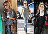 Pictures of Lindsay Lohan Shopping and Leaving a Club in LA