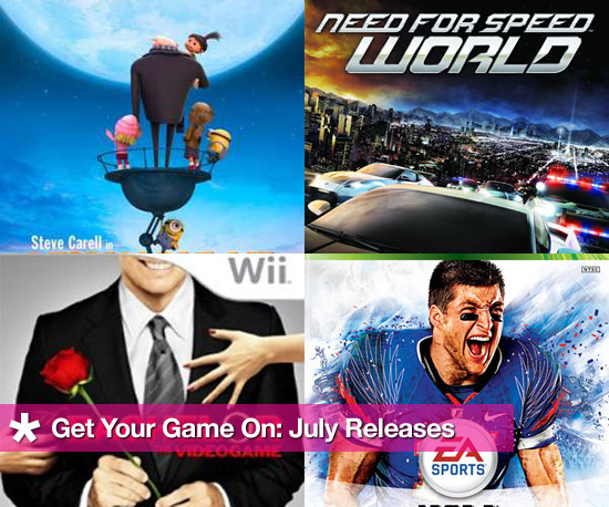 Get Your Game On: July Releases