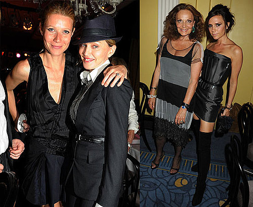 Pictures of Victoria Beckham, Madonna, Gwyneth Paltrow at Diane von Furstenberg Party at Claridges London