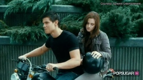 Exclusive Eclipse clip of Bella, Edward and Jacob