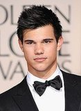 Taylor Lautner in January 2010: 67th Annual Golden Globe Awards