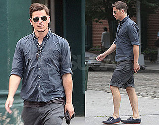 Pictures of Hot Josh Hartnett Walking in NYC