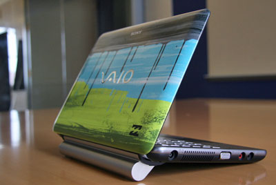Pictures of the Sony Vaio W