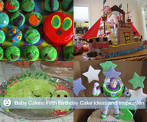 Fifth Birthday Party Cake Ideas and Inspiration