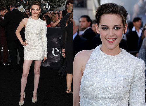 Kristen Stewart Wearing Elie Saab Couture to the LA Premiere of Eclipse