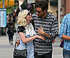 Slide Picture of Jason Boesel and Kirsten Dunst in NYC