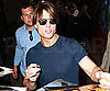Slide Picture of Tom Cruise Signing Autographs in New York