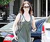 Slide Picture of Emily Blunt Leaving Fred Segal in LA