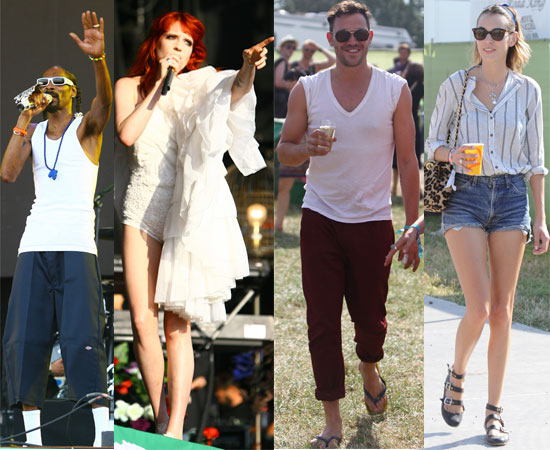 PIctures of Kate Moss, Emma Watson and More at Glastonbury 2010