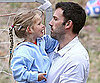 Slide Picture of Ben Affleck and Violet at LA Park
