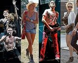 Pictures and Video From Glastonbury 2010 Of Kylie Minogue and Scissor Sisters, Kate Hudson, Matt Bellamy, Sienna Miller