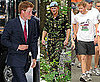 Pictures of Prince Harry in New York