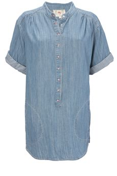 French Connection - Phillipa Denim Oversized Shirt