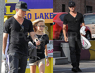 Pictures of Ryan, Ava, and Deacon Phillippe Shopping in LA