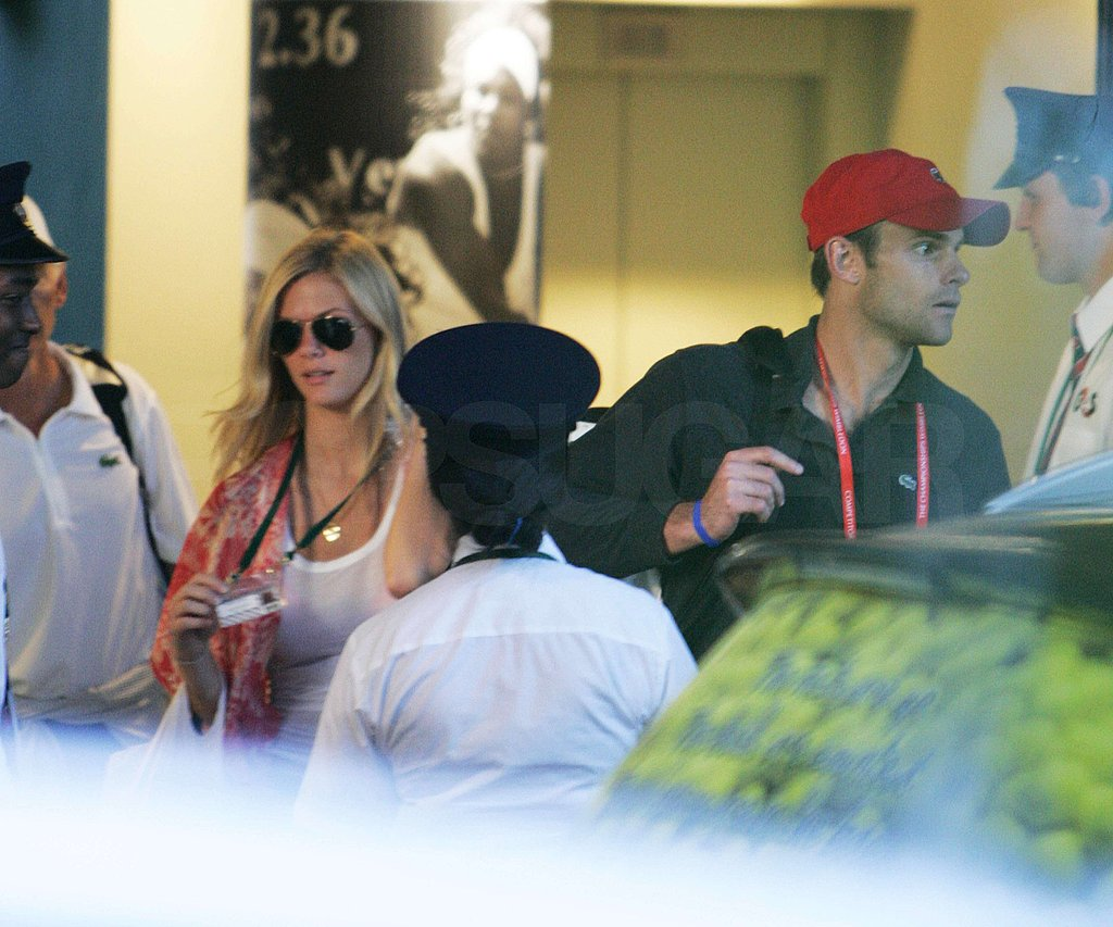 Pictures of Brooklyn Decker and Andy Roddick at Wimbledon