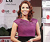 Slide Picture of Eva Longoria at an LG Event in Spain