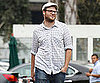 Slide Photo of Seth Rogen Leaving a Studio in LA