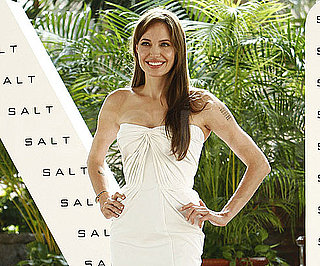 Slide Picture of Angelina Jolie Promoting Salt in Cancun