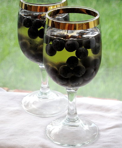 Recipe For Grape Gelatin With Blueberries