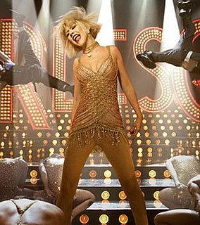First Pictures of Christina Aguilera in Burlesque