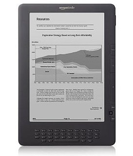 New Kindle DX at Lower Price