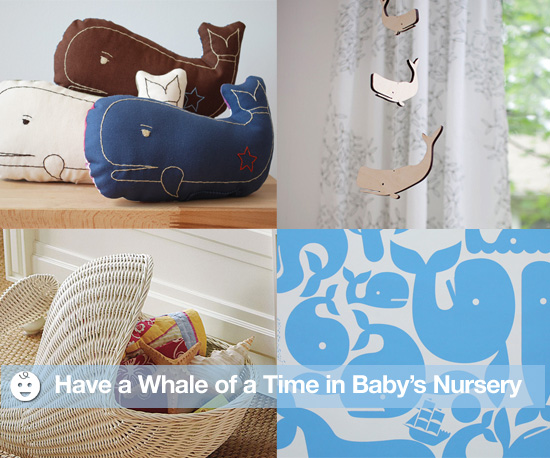 A Whale of a Time in Baby's Nursery