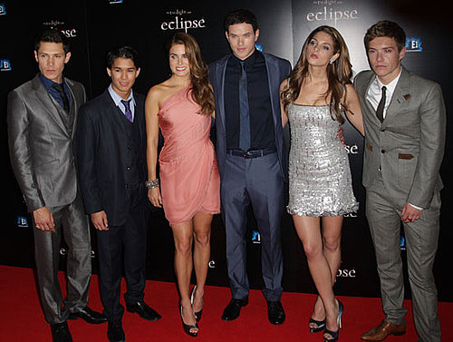 Eclipse London Premiere Including Ashley Greene, Nikki Reed, Kellan Lutz, Alex Meraz, Xavier Samuel, Booboo Stewart 2010-07-01 18:30:49