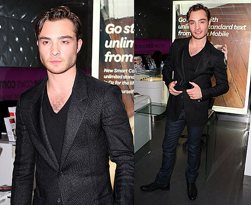 Gossip Girl star Ed Westwick mobbed by fans at Virgin Mobile event in Sydney
