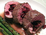 Cherry and Onion Stuffed Pork Tenderloin