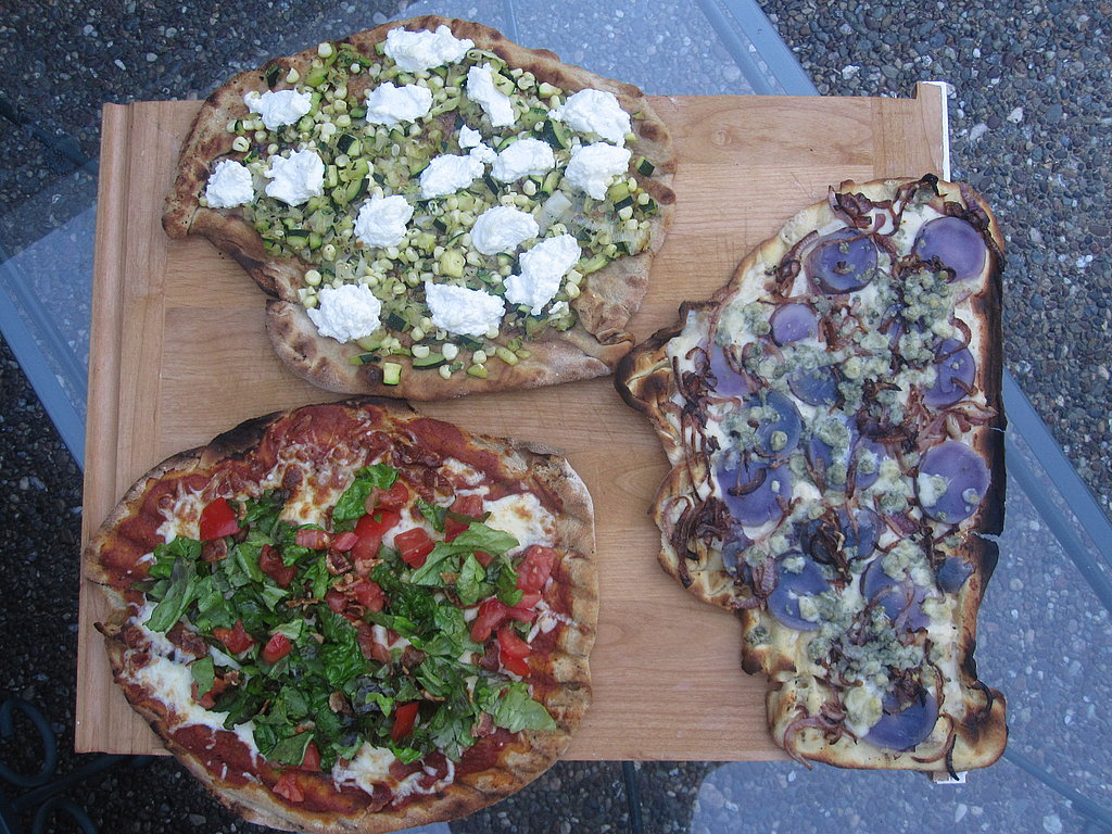 Grilled Red, White, and Blue Pizzas 2010-07-02 09:52:37