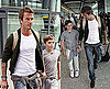 David Beckham and Brooklyn Beckham at Wimbledon 2010-07-02 11:30:00
