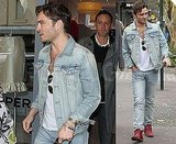 Pictures of Ed Westwick Shopping in Sydney He Is Single Does Not Have a Girlfriend Not Tied Down to Jessica Szohr