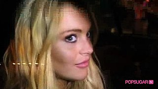 Video of Lindsay Lohan After Getting Punched on Her Birthday